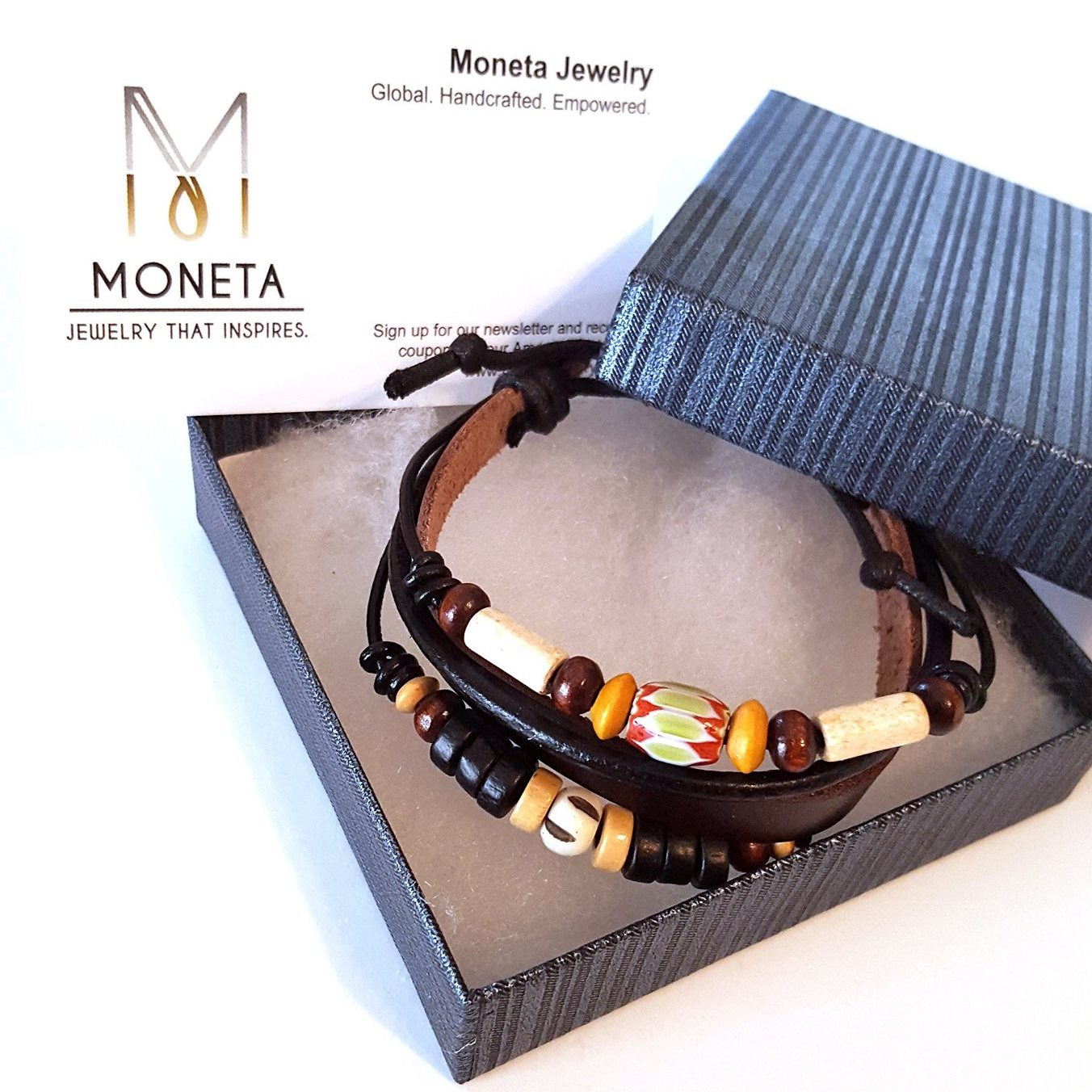 bracelet box with coupon